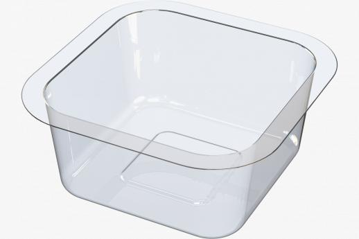 Kids snack pot shallow
