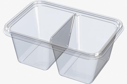 Twin cavity PP tub
