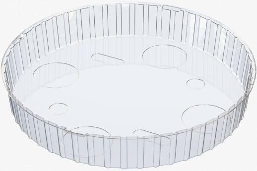 Circular Open Tray - Flow Wrap