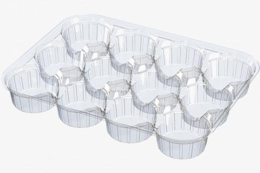 12 Compartment Tray - Flow Wrap