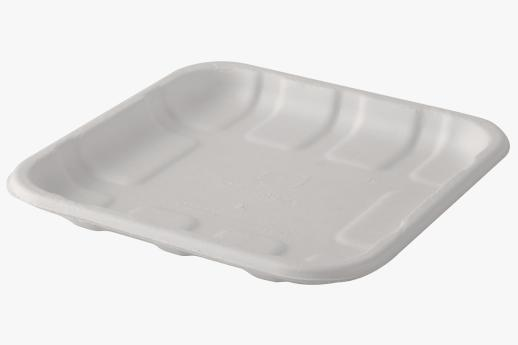 Sugarcane Meat/Produce Trays 140x140x15mm