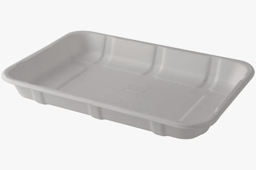 Sugarcane Meat/Produce Trays 215x150x25mm