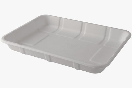 Sugarcane Meat/Produce Trays 240x180x25mm