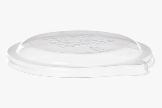 PLA Lid, Fits 175-235ml (6-8oz) Sugarcane Bowl