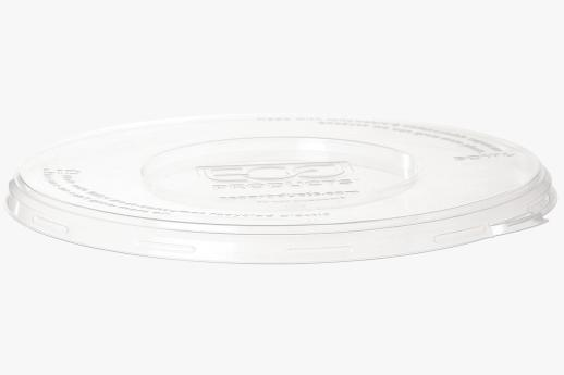 100% RPET Lid, Fits 710-1360ml Coupe, 470-940ml Noodle Bowl