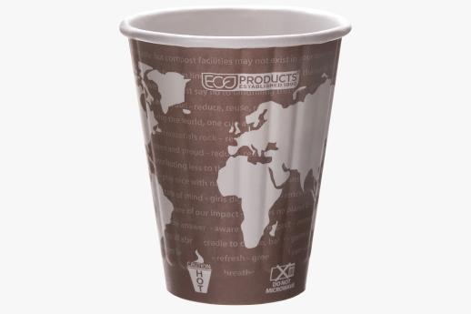 World Art Double Wall Hot Cup 235ml (8oz)